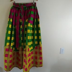 Dresses & Skirts - NWOT African print, African Made Maxi Skirt